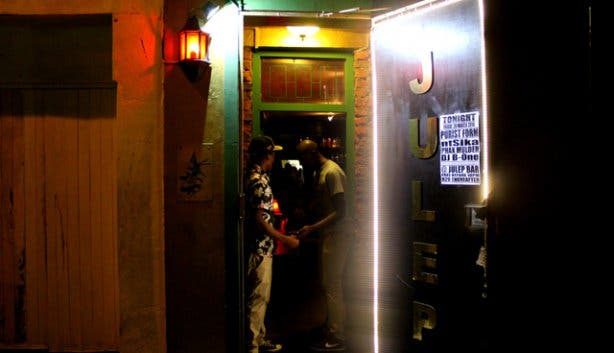 Julep Bar Entrance