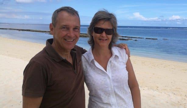 Michael Hauser mit Frau Andrea