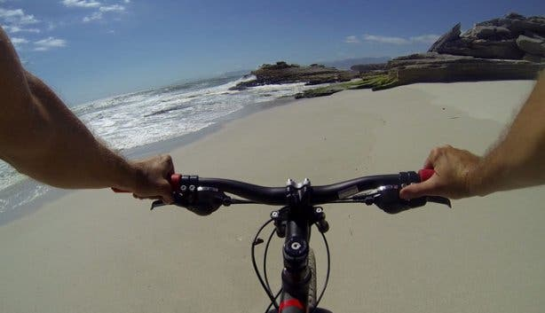 Cycling on the Beach with Fatbike Tours