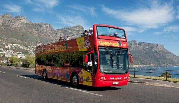Rode bus kaapstad