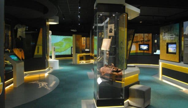 The Springbok Experience Rugby Museum Displays