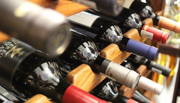 Cozier Wine Cellers Wine Bottle Display