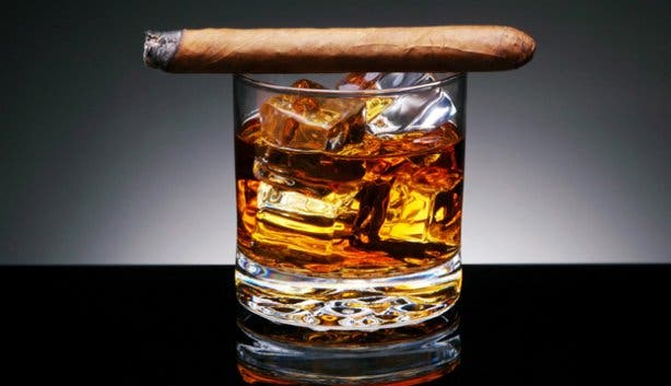 Cigar and whisky tasting Cape Town