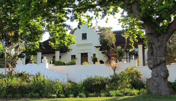 Manor House at Saxenburg Wine Farm Stellenbosch