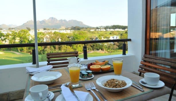 Breakfast at Kleine Zalze Lodge Restaurant