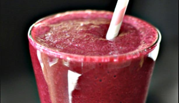 Happytown Healthy Fast Food Restaurant Smoothie
