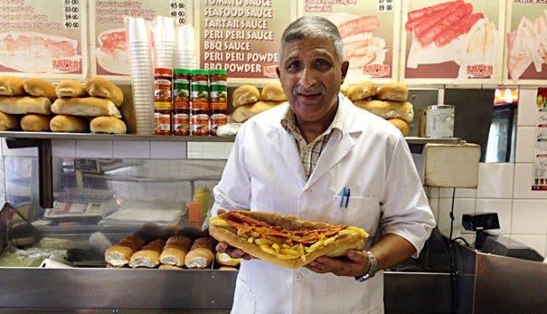 Gatsby Sandwich Cape Town Inventor