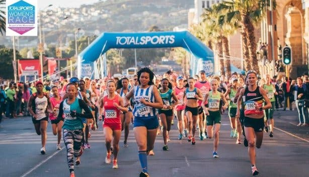 Totalsports Women's Race Cape Town Pink Drive