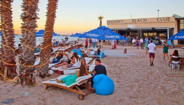 Shimmy Strandclub en Restaurant Kaapstad