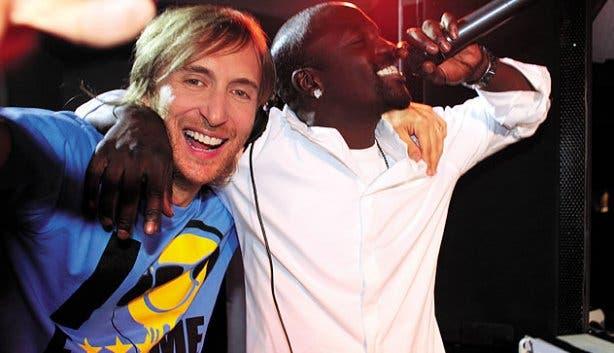 Akon and David
