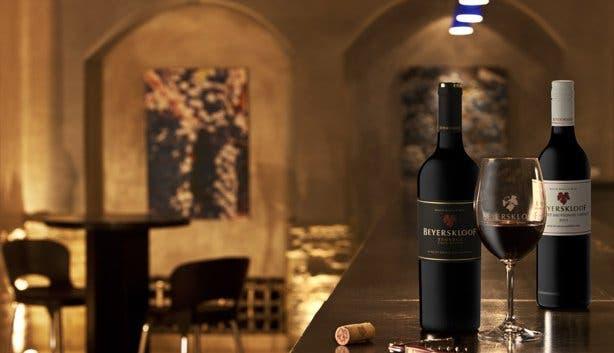 Tasting Room at Beyerskloof Winery