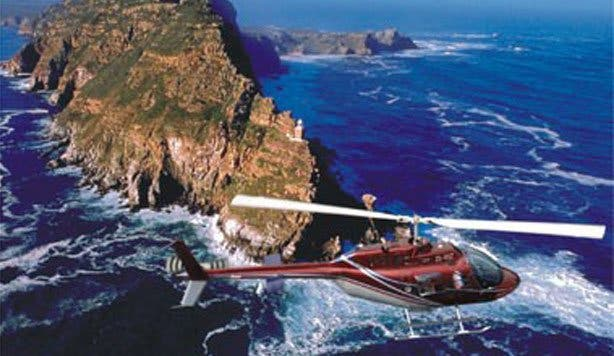 nac makana helicopter flight cape point