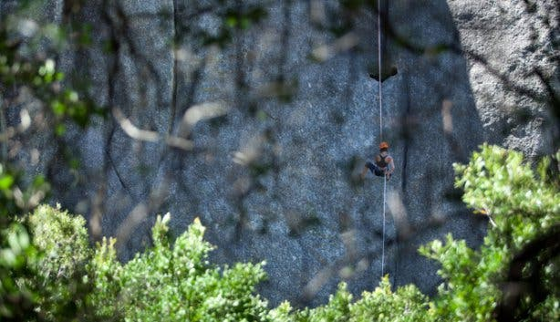 Abseiling Tours Paarl Rock