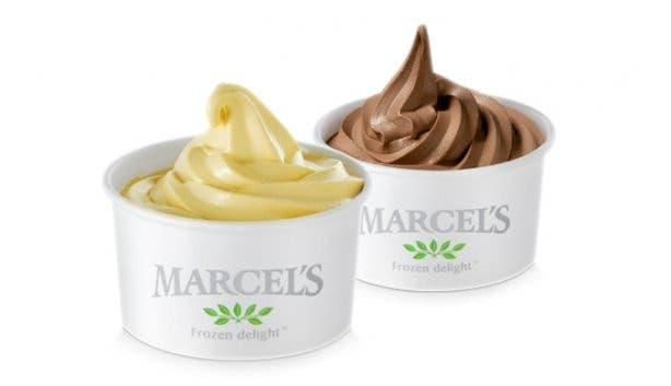 Marcel's Frozen Yoghurt Soft Serve Swirl Tubs