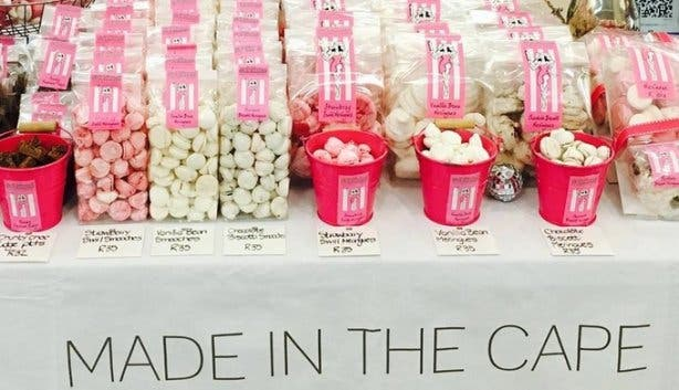 Made in the Cape market sweet treats