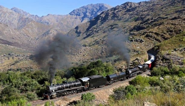 Ceres Rail Company train double header