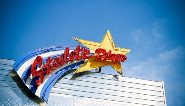 Starlite Diner Sign