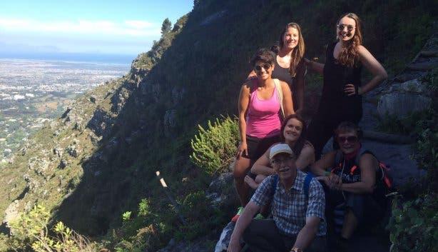 Skeleton Gorge Yoga Hike 3