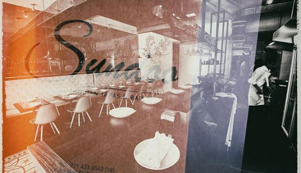 Sundoo South Indian Tapas and Bar Taliep Sedick Exterior Window Sundoo