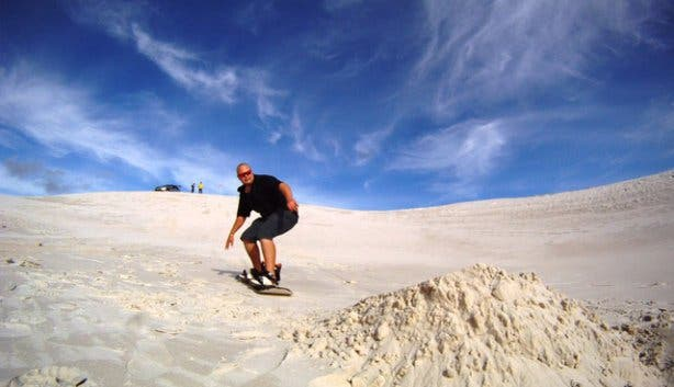 Sandboarding Cape Town Dylan Le Roux