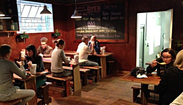Ramen Restaurant Interior in Cape Town