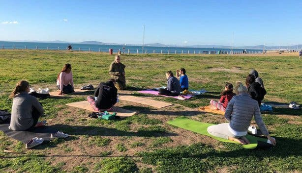 Om Revolution Outdoor Yoga 2