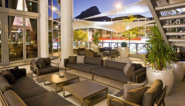 Patio at 15 on Orange Cape Town