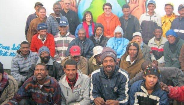 obdachlos in Kapstadt