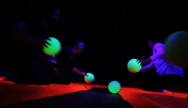 Rush glow in the dark dodge ball