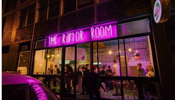 the raptor room
