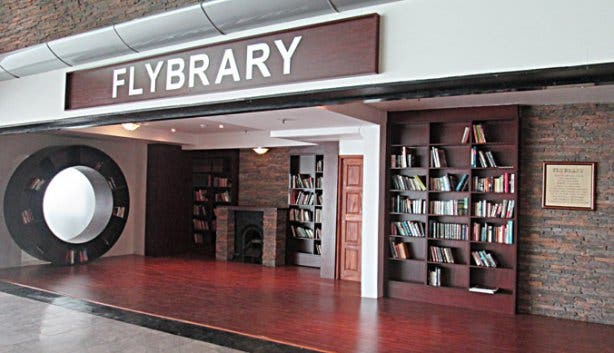 Flybrary at the Cape Town International Airport