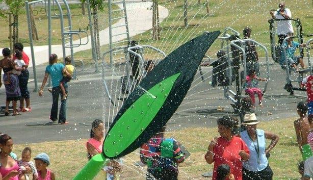 Water-wise Spray Park 8