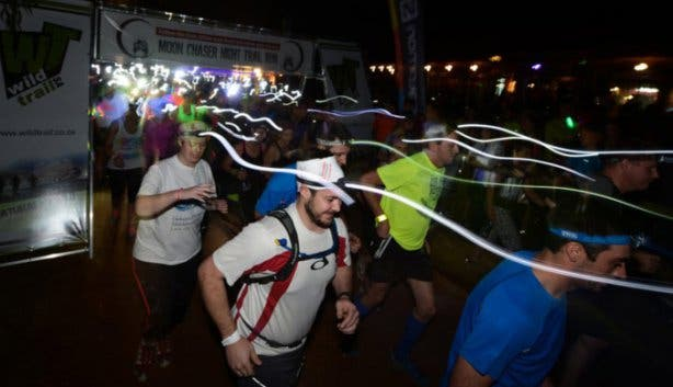 Salomon Moon Chaser Night Trail Run Cape Town