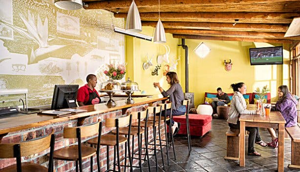 The Backpack Backpackers Cafe