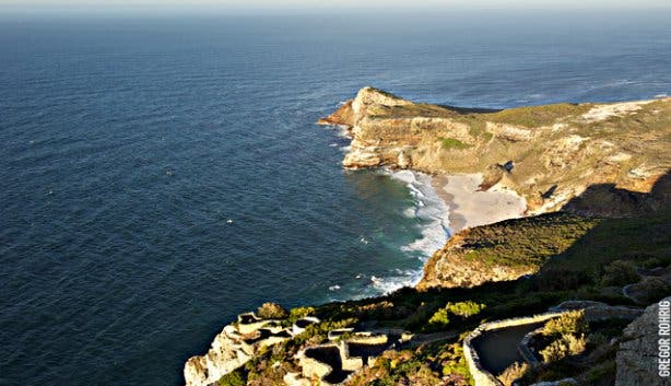 Cape Point View in South Africa