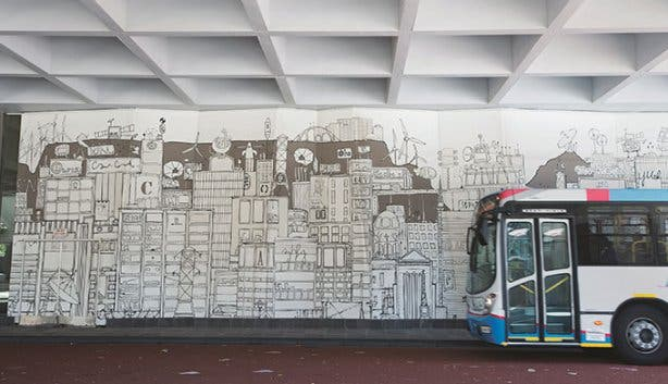 MyCiTi Bus Station Artworks 2