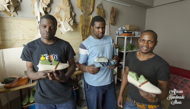 African Handmade Shoes Kapstadt Longstreet