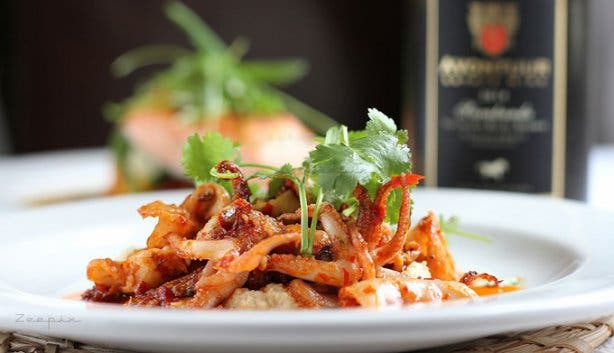 Avontuur Wine Estate calamari