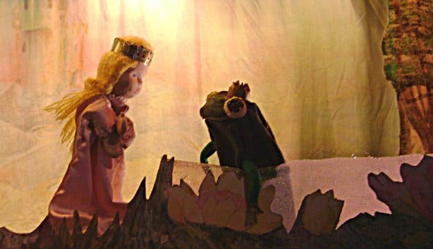 Rainbow Puppet Theatre Frog Prince