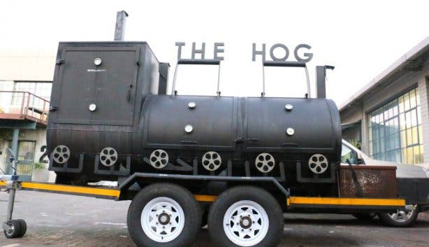 The Hoghouse Brewing Company and Restaurant in Cape Town