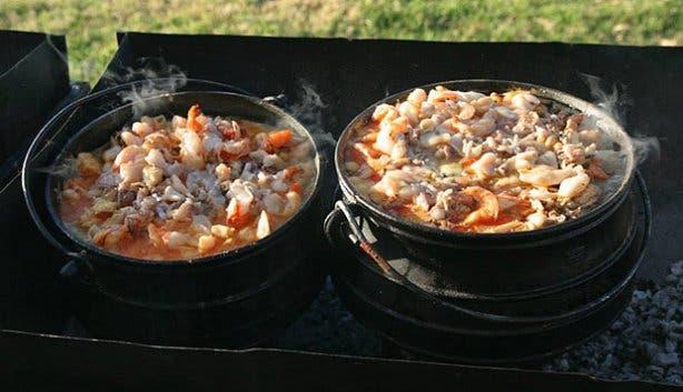 Seafood Potjiekos at Castella Amare