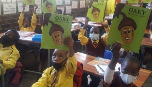 Mandela Day Read and Rise Classroom
