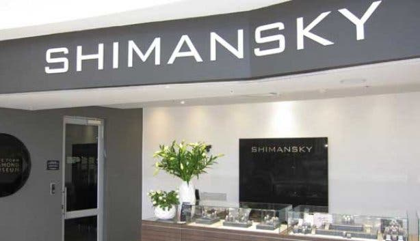 Exterior of shimansky showroom at the Waterfront