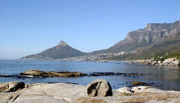 Oudekraal braaispot Kaapstad