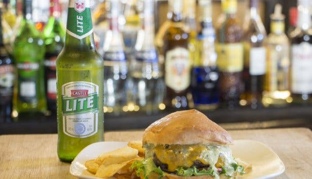The Piano Bar Burger and Beer Special in Cape Town