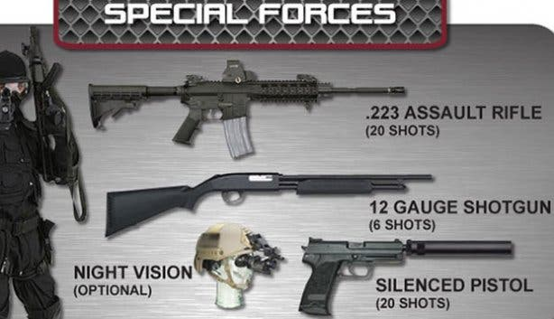 Special Forces Package at Gun Fun CPT