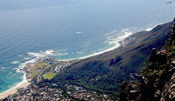 table mountain national park view camps bay