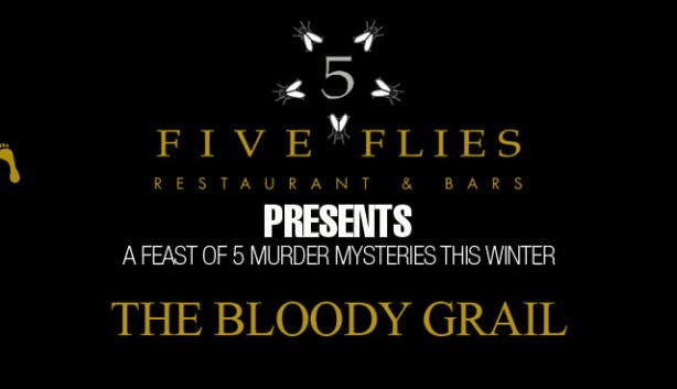 five flies murder mysteries winter bloody grail