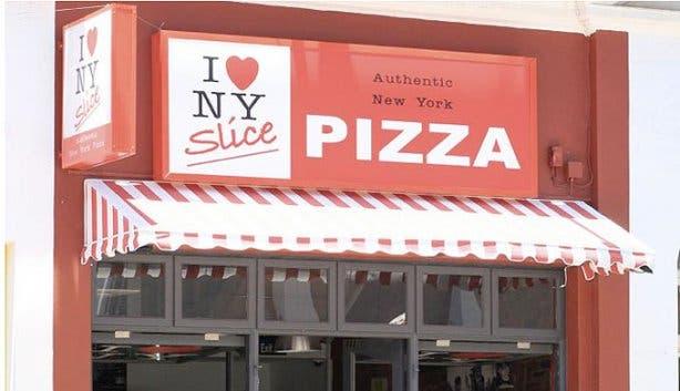 NY Slice Pizza Exterior