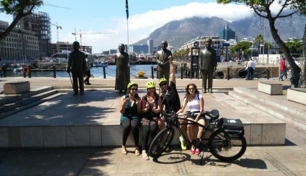 Bye Cycle Peddling the Promenade Cycle Tour in Cape Town